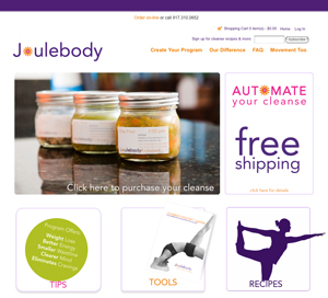Joulebody website